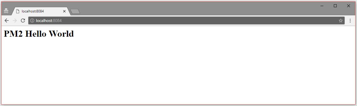 PM2 - Advanced Node js Process Manager